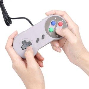 Retro Usb Controller Gamepad Super Nintendo Snes Img 01