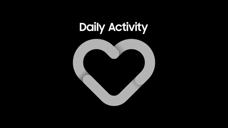 coração cinza com o título Daily Activity;