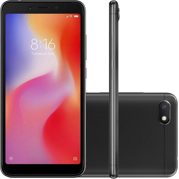 Xiaomi Redmi 6a Preto Img 01