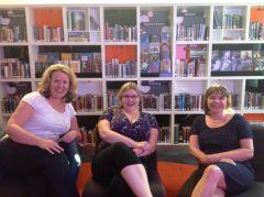 YA writing workshop with authors, Alison Sherlock and Kate Johnson.