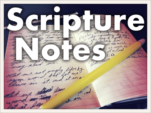 Scripture Notes: Exodus 14 (pt.2)