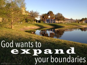 God Wants to Expand Your Boundaries