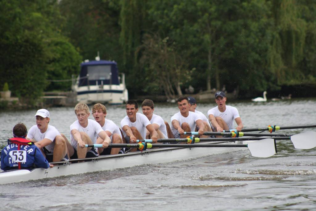 Andover Rows to Quarterfinals at Henley Royal Regatta