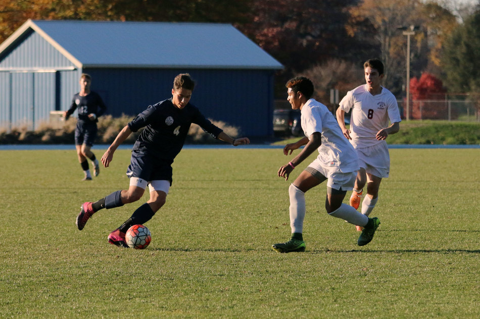 Boys Soccer Responds To Loss With Five Goal Victory