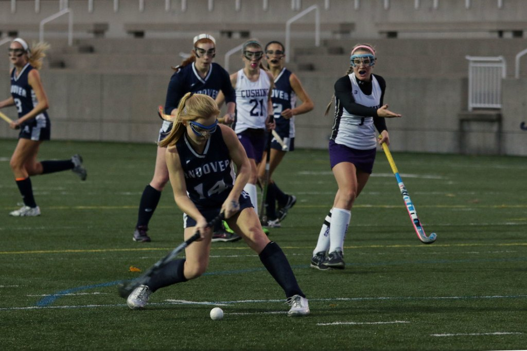 Field Hockey Defense Stifles Cushing In Shutout Victory
