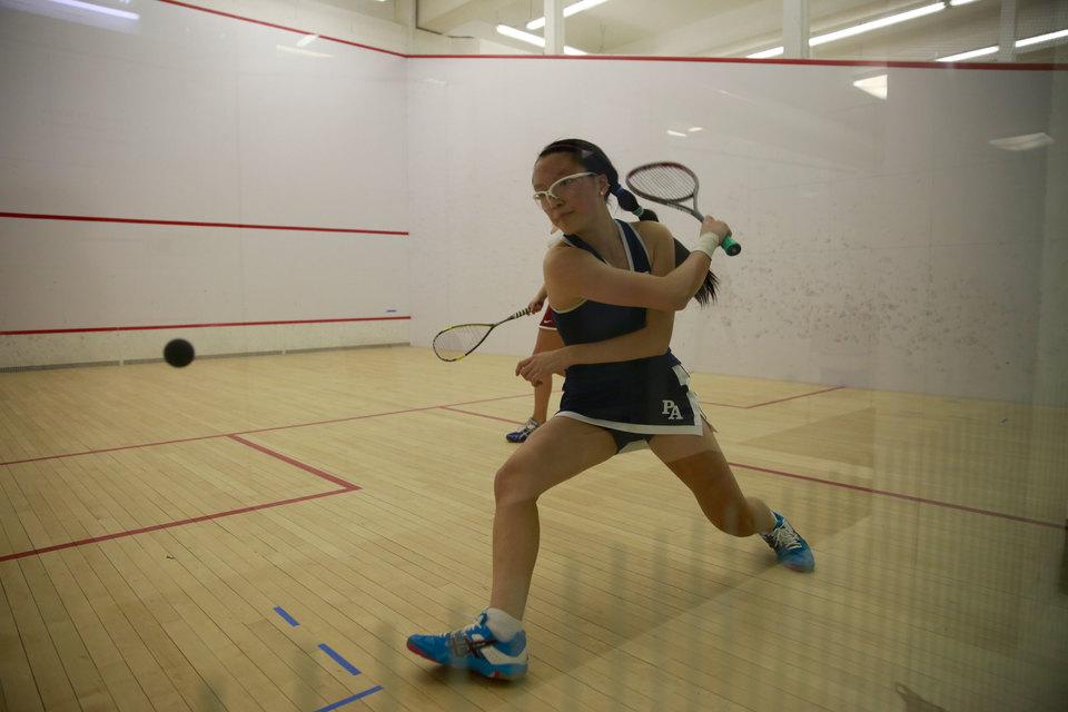 Girls Squash Sweeps In Season Opener