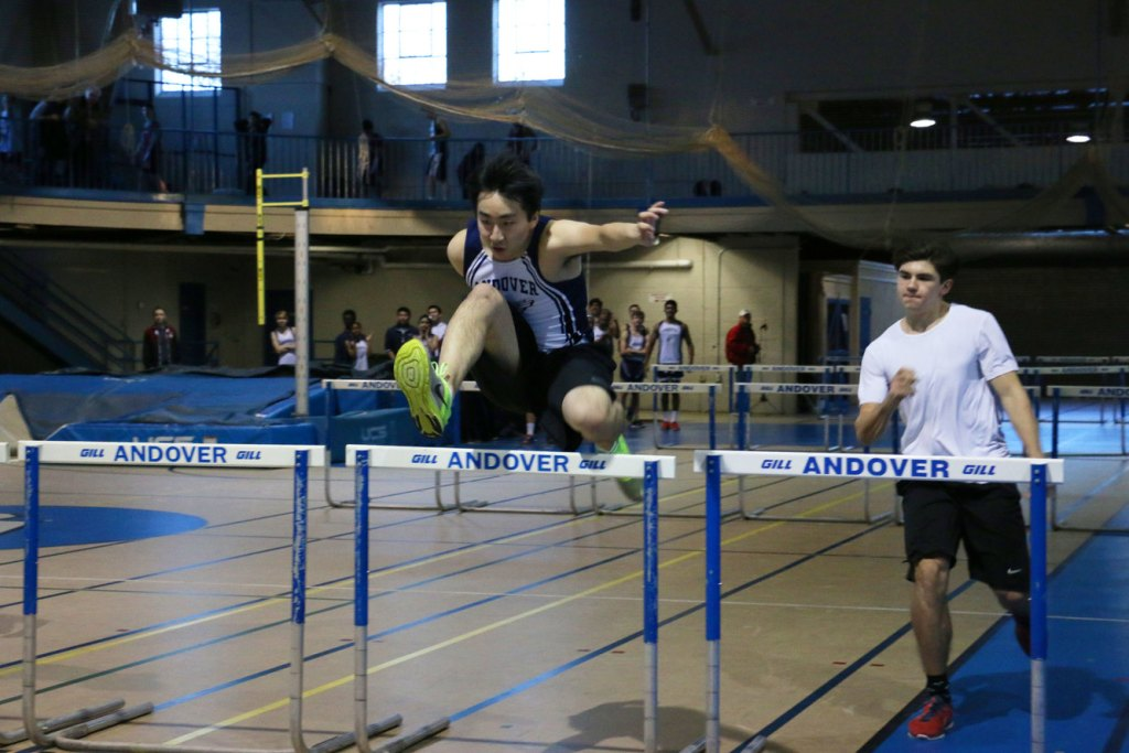Winter Track: Ward '17 Breaks His Own  League Record