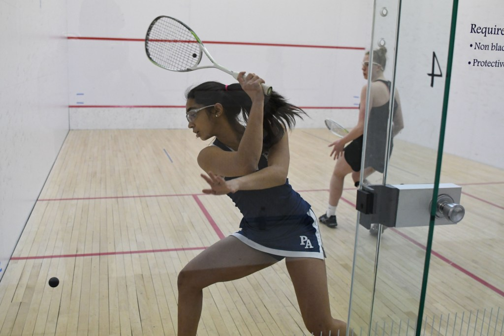 Girls Squash Sweeps Brooks For Second Time This Season