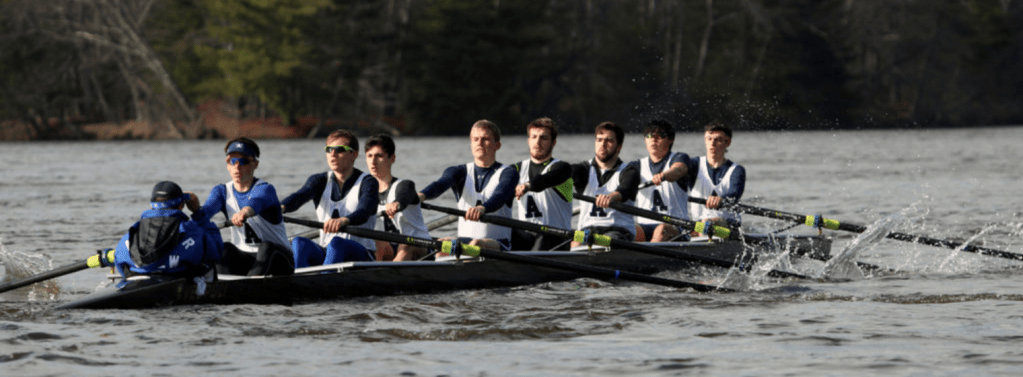 Narrow Loss for Andover Crew's B1, B2, and B4 in First Race