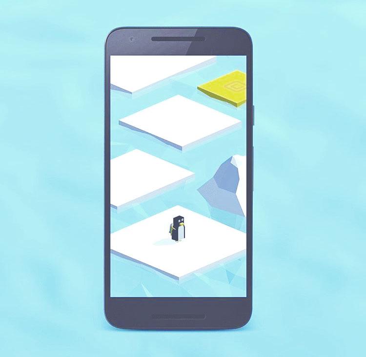 "Igor Barakaiev '20 Will Release  ""Ice Bounce"" Game App on Saturday"