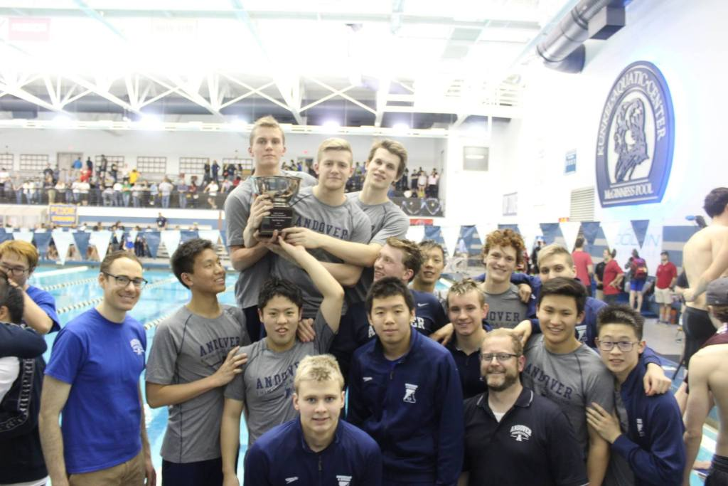 Boys Swimming Earns Second Place Finish at Eastern Championships