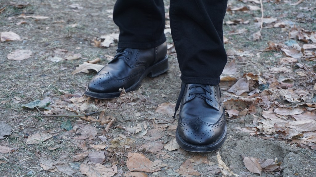 Look of the Week: Eugene Hughes Combines French Flair and Flashy Socks