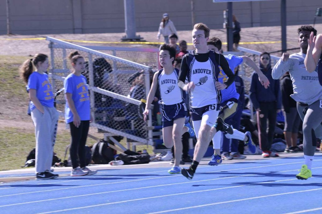 Andover Boys Track Sweeps Top 4 in 1500-Meter Dash