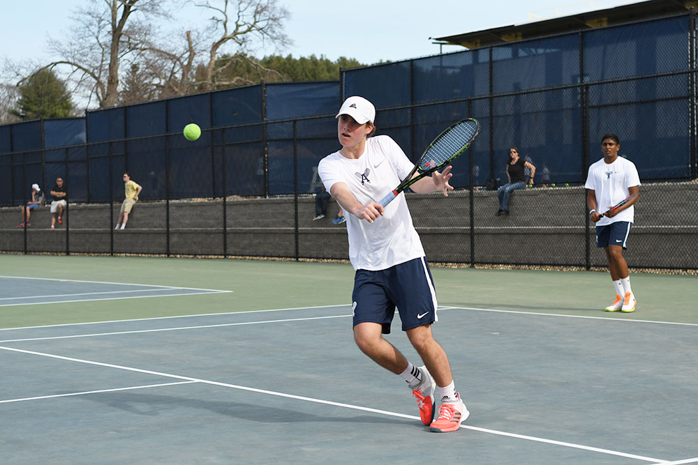 Andover Boys Tennis Sweeps BB&N 7-0 in Season Opener