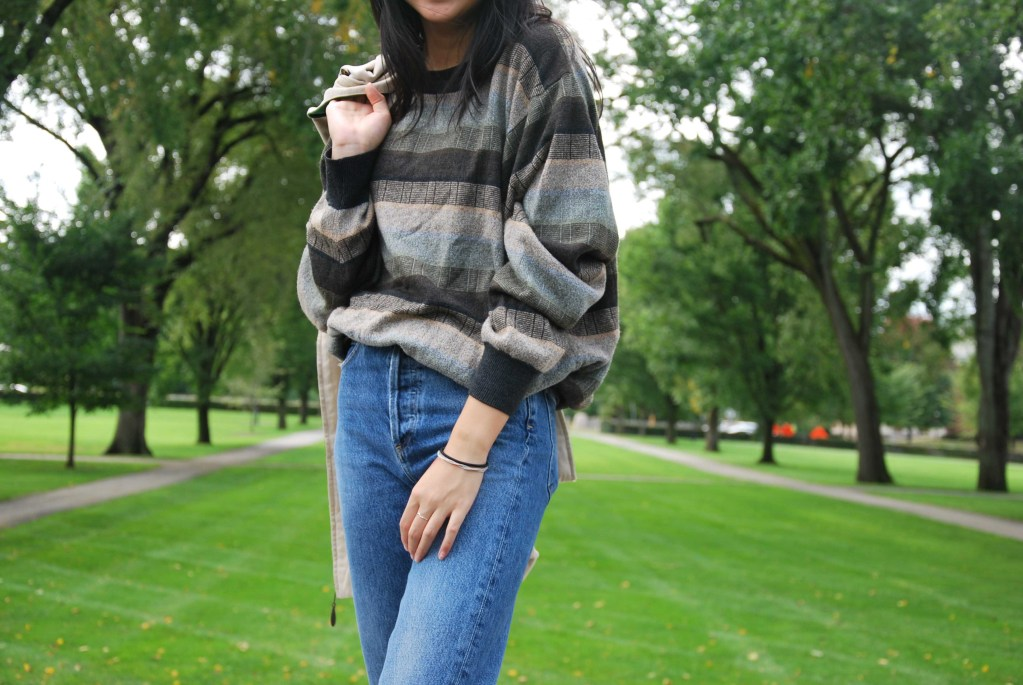 Look of the Week: Melanie Cheung '20 Crafts Minimalistic Style with a Mix of High-End and Thrifted Pieces