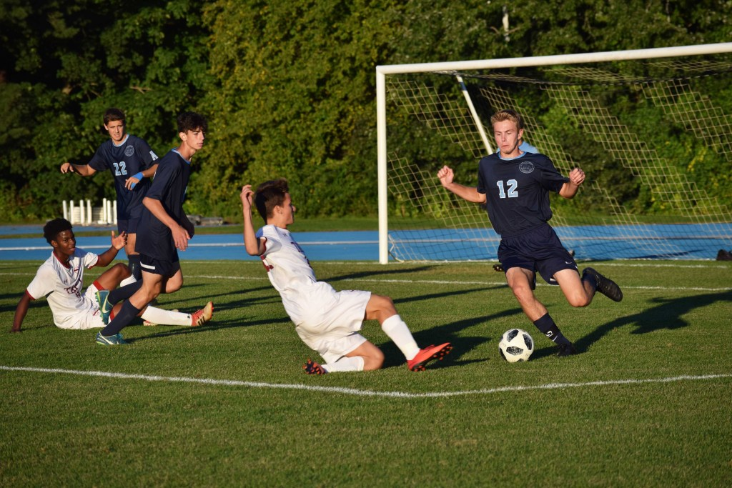 Boys Soccer Loses to Taft and Bridgton