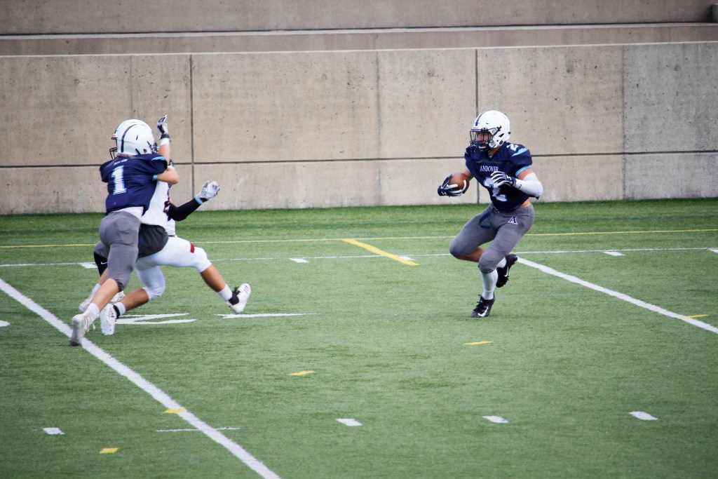 Football Falls 51-8 to Choate