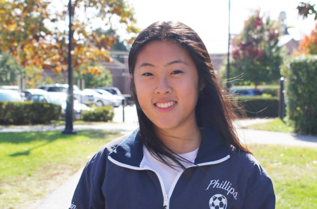 Allison Zhu '19 Played for Shanghai Boys Soccer Team After Girls Team Disbanded