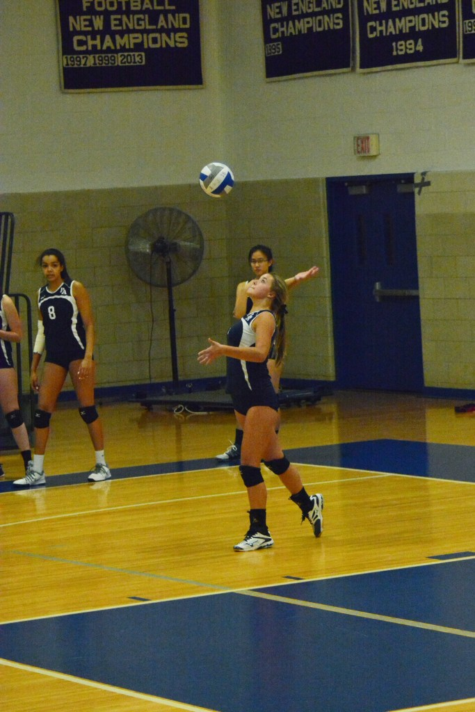 Girls Volleyball  Beats Archrival Exeter, Falls to St. Paul's
