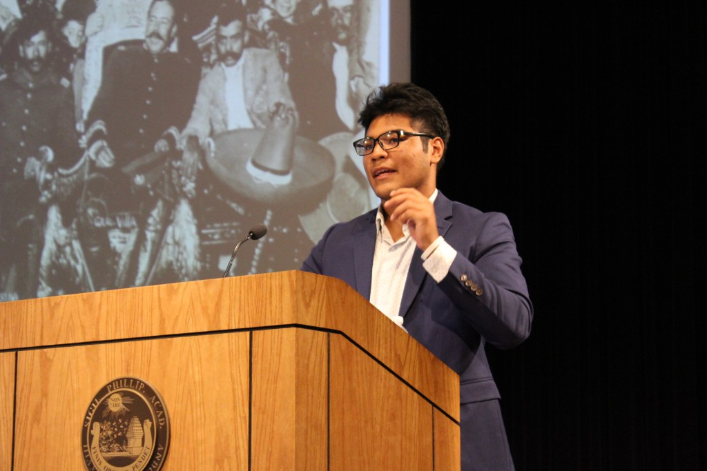 CAMD Scholar Pablo Sanchez '19 On the Role of Corridos In Mexican Culture