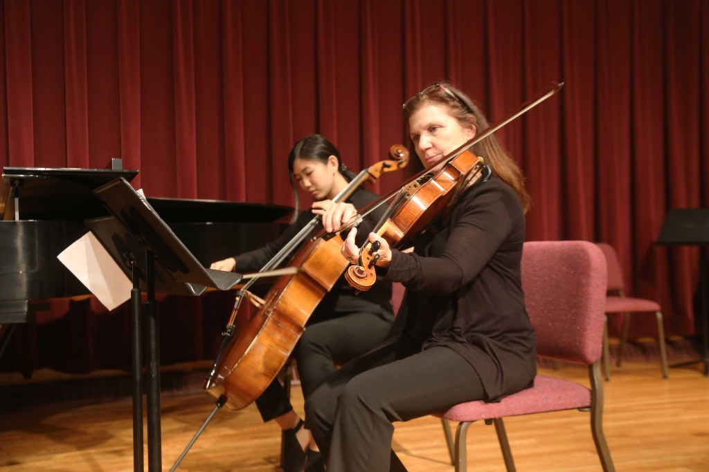 Academy Chamber Society Performance Features  New Performers and New Instruments