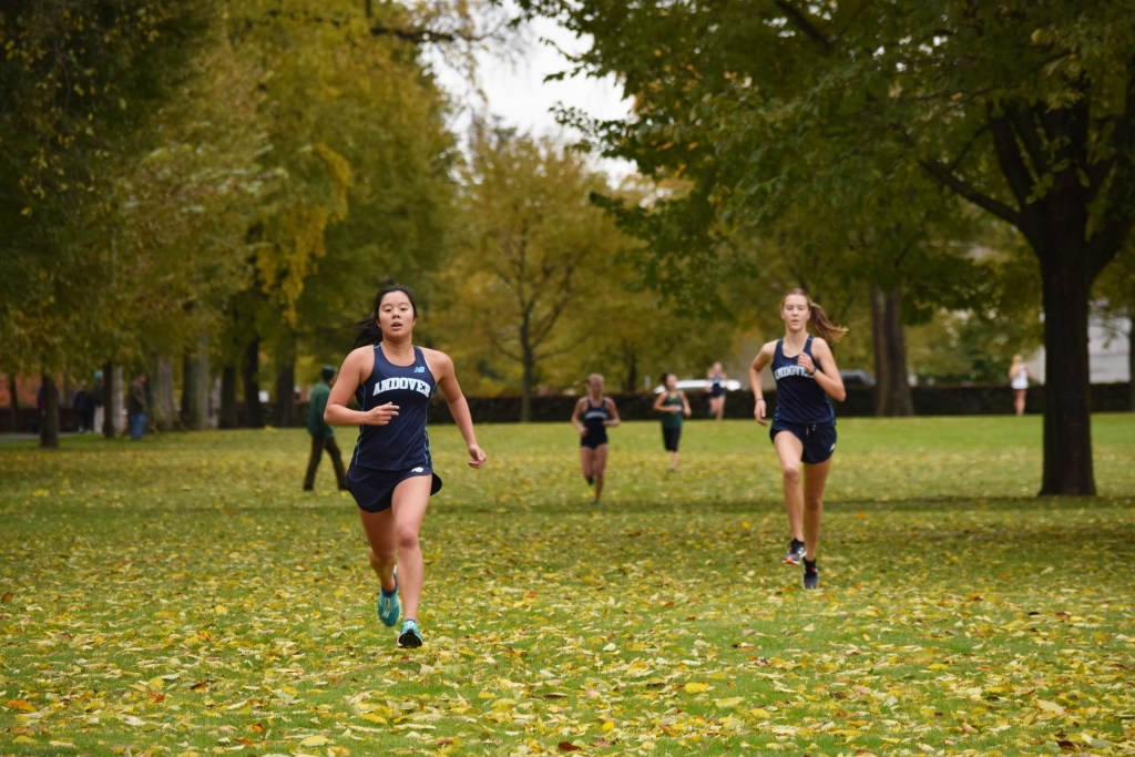 Andover Falls in Final Home Meet  of Season