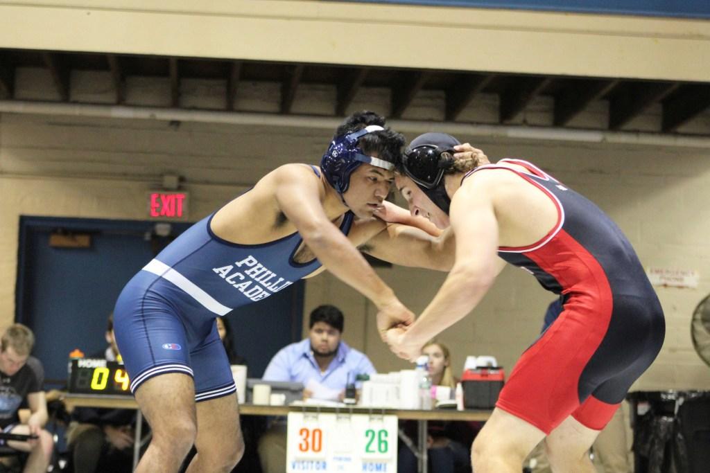 Wrestling Falls in Season Opener to St. Paul's