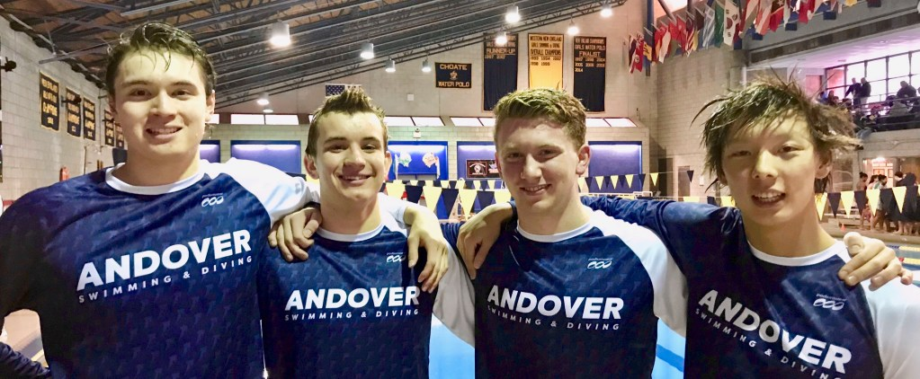 Andover Boys Swimming Smashes National HS SCM 200-Meter Medley Relay Record