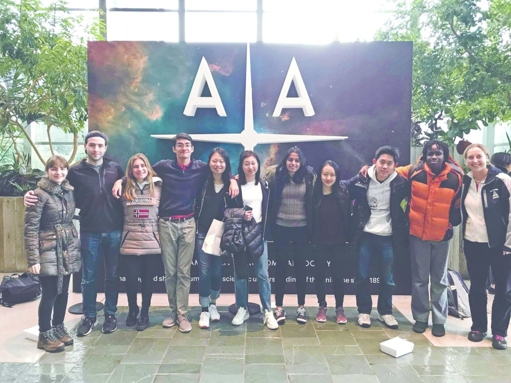 Students Explore Scientific Boundaries at Annual American Astronomical Society Meeting