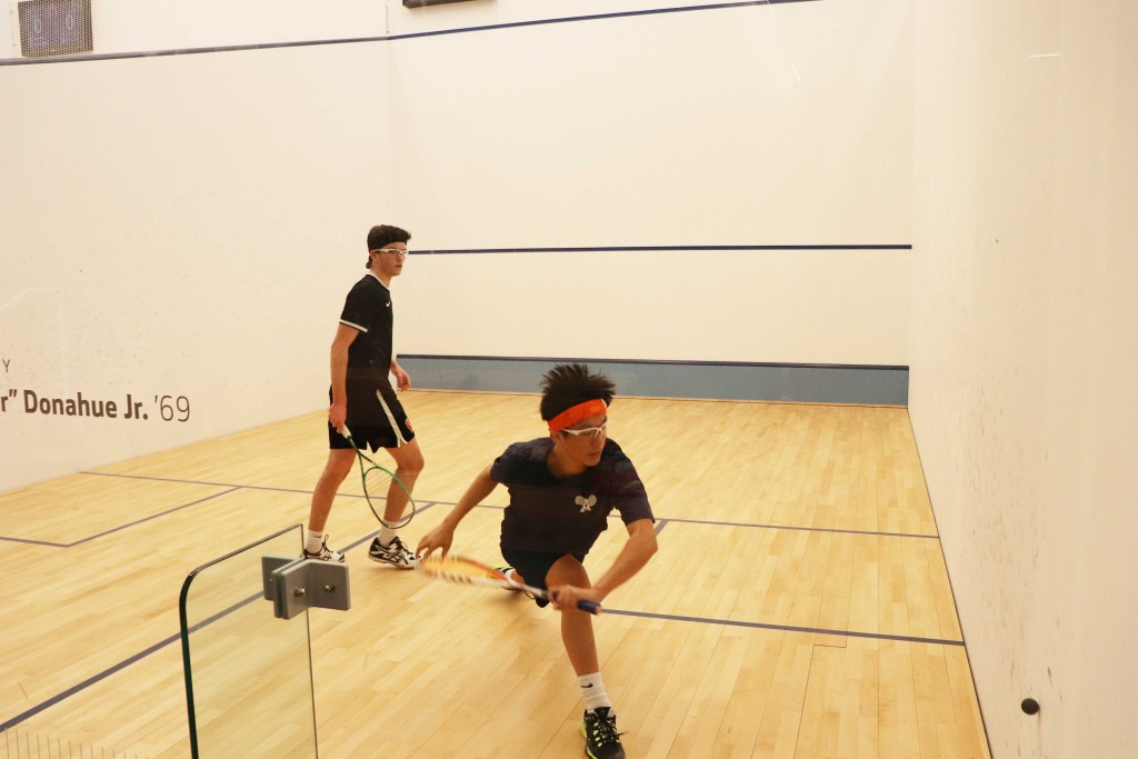Boys Squash Secure Sweep Over Groton