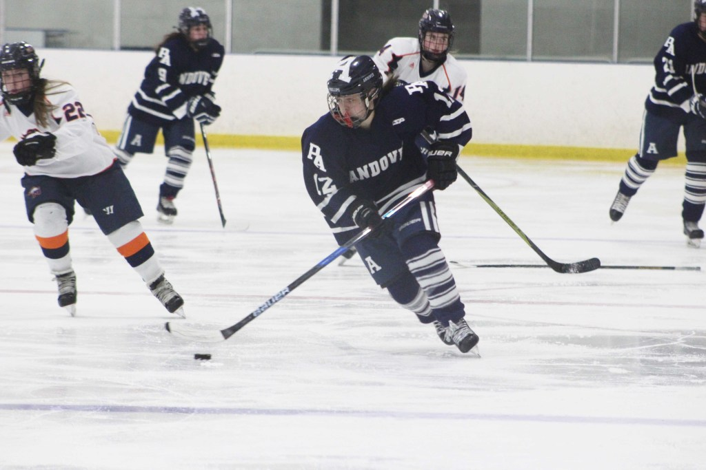 Girls Hockey Defeat St. Paul's in Overtime Thriller