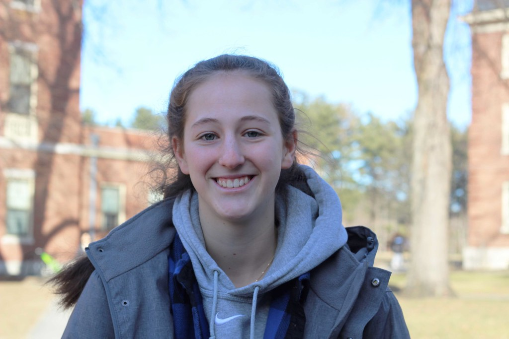 Athlete of the Week: Anna Bargman '21 Strives To Help Teammates and Improve Herself