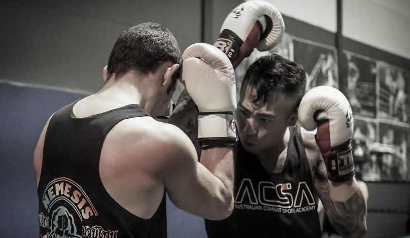 Training Muay Thai for the over 30's