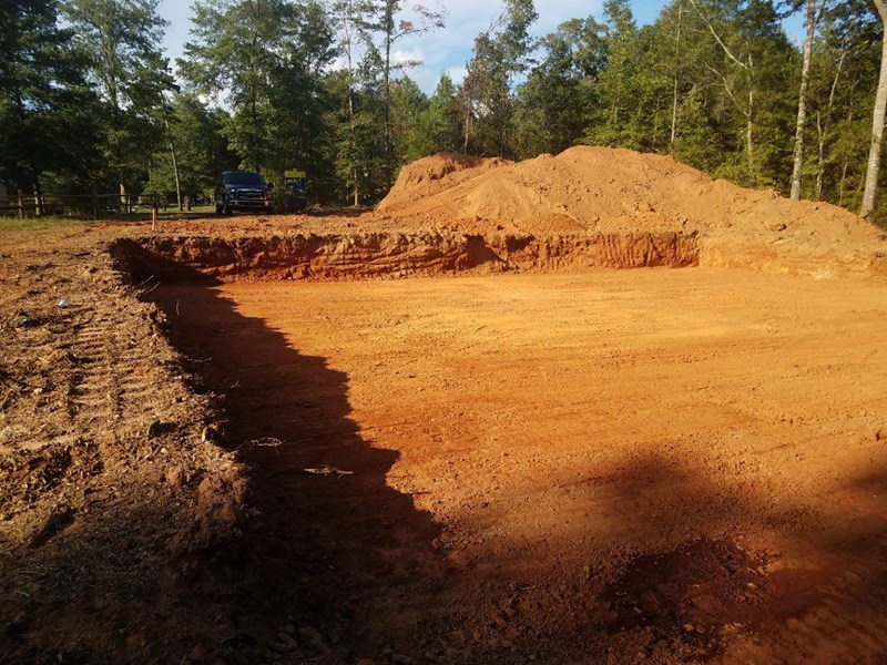 getting ready for foundation pour