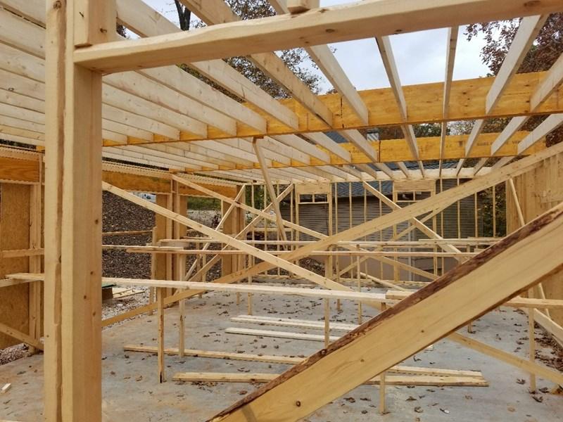 Main floor framing 3