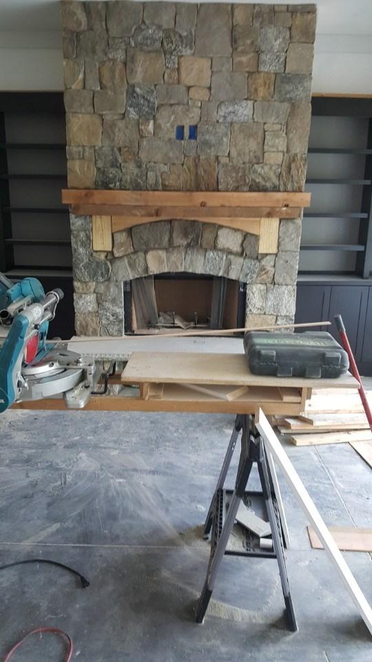 8-fp mantles installed