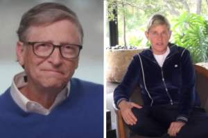 Bill Gates and Ellen