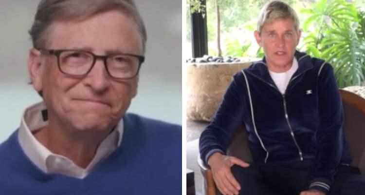 Bill Gates and Ellen