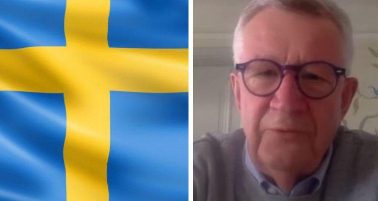 Swedish flag and doctor