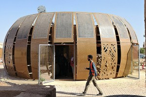 Moroccan hemp house