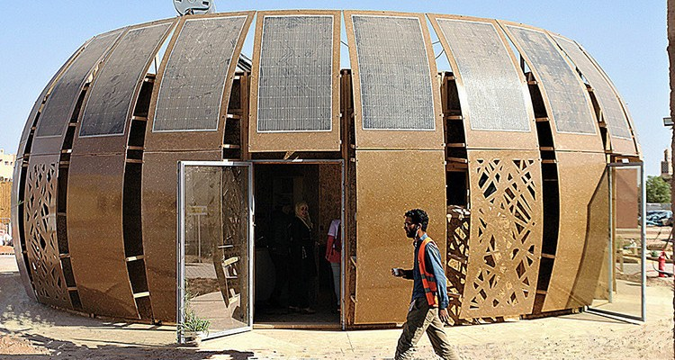 Moroccan hemp house