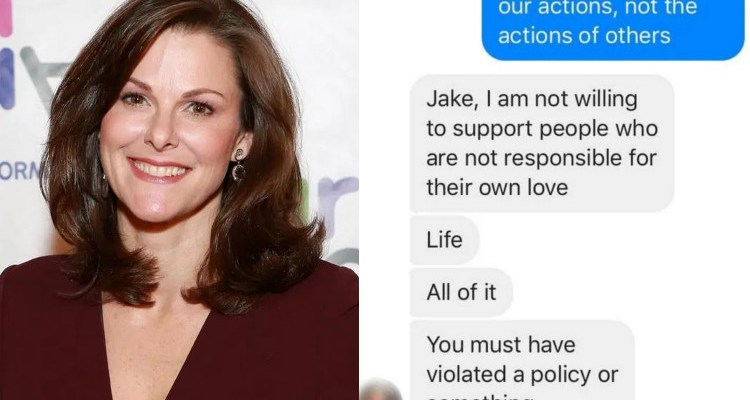 Facebook executive Campbell Brown and Jake Passi messages