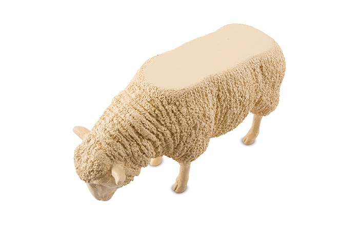 Sheep Side Table / Apricot