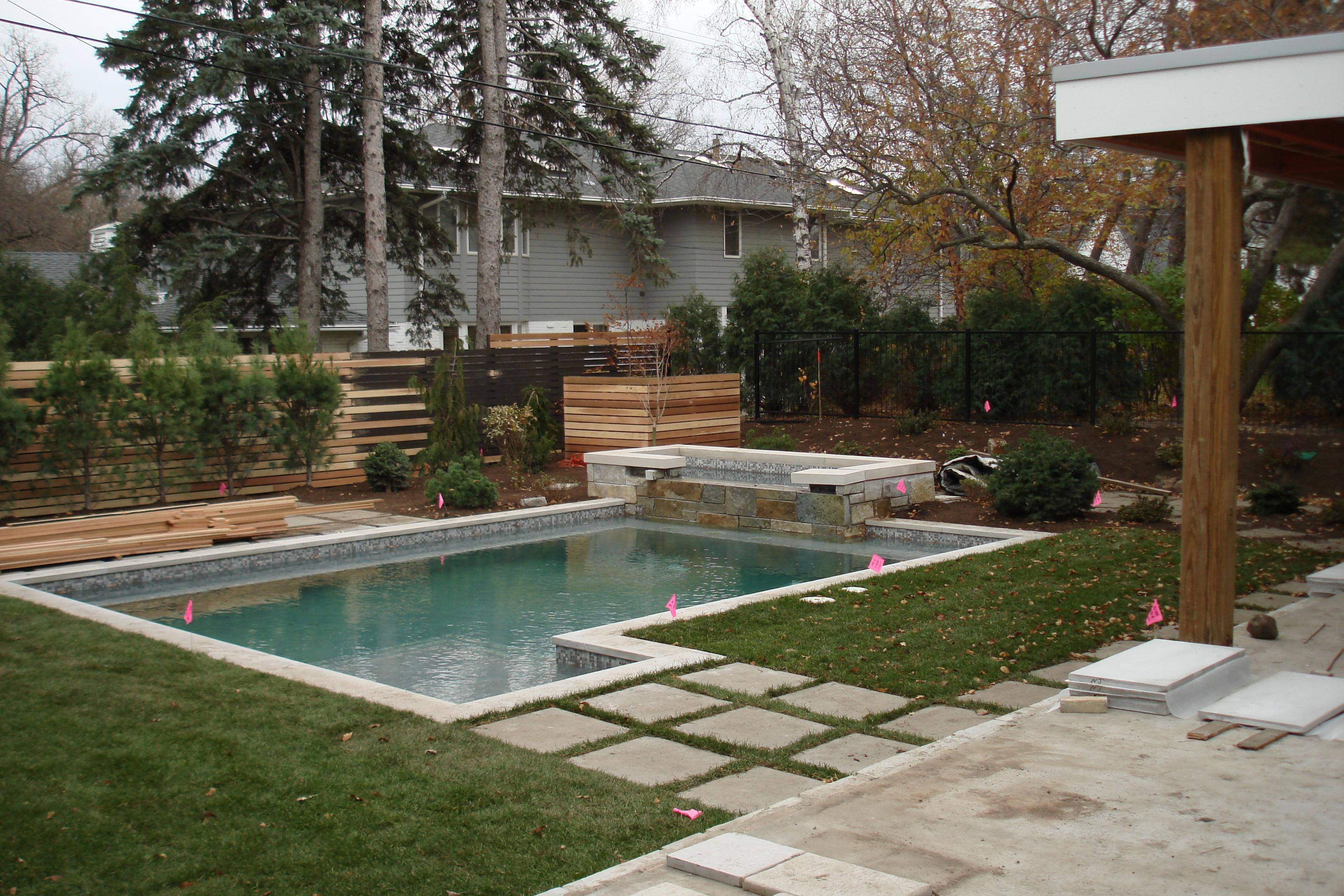 modern garden on Contemporary Backyard  id=69349