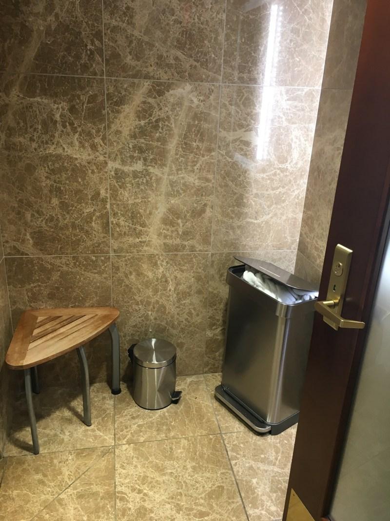 Turkish Airlines Shower Room