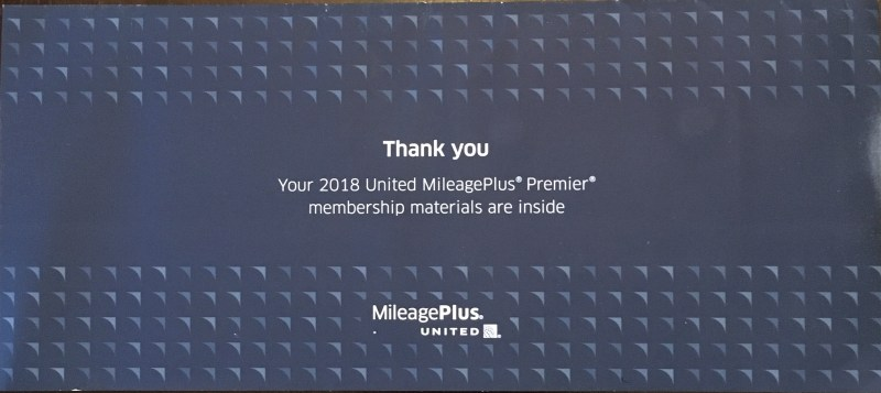 United Premier Platinum Welcome Kit