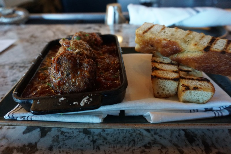 Sapore Meatballs