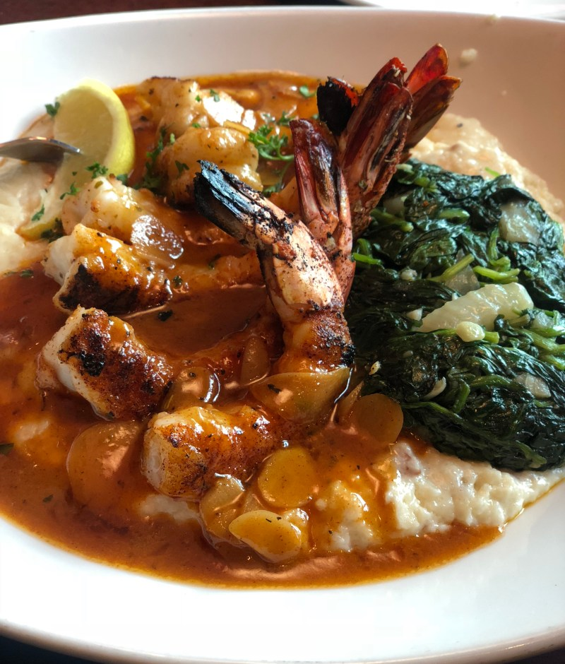 Pappadeaux Shrimp and grits