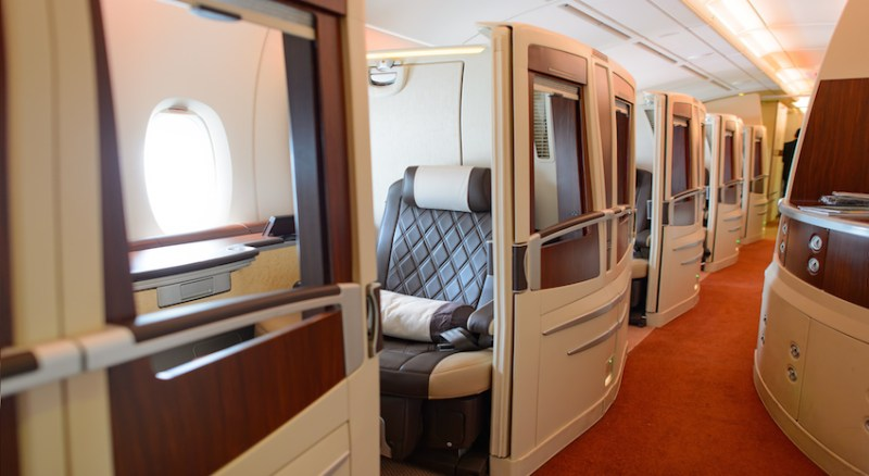 Singapore A380 First Class Suite