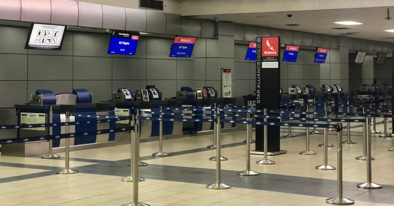 Avianca Airlines Check in Counter